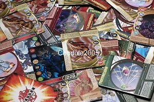 (25) Bakugan Battle Brawlers Gate and Ability Cards Lot with Metal Magnetic