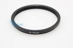 Adapter-Filter-Lens-Step-Down-Ring-52-49mm-52mm-to-49mm