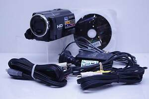 Sony HDR-XR160 160GB Hard Drive High Definition Video Camera Surry Hills Inner Sydney Preview