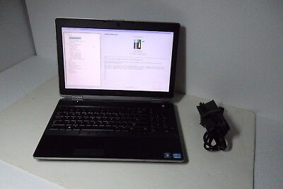 "Dell E6530 Latitude 15.6"" Intel Core i5 (3rd Gen) 2.90GHz 8GB Wi-Fi 320GB WebCAM"