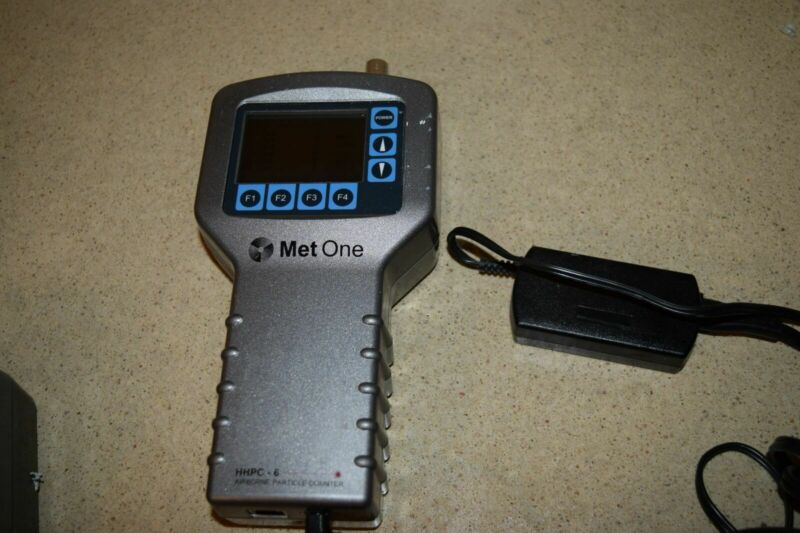 ^^ MET ONE HHPC-6 HAND HELD AIRBORNE PARTICLE COUNTER (B2)