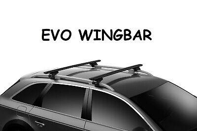 Barre portatutto THULE WingBar EVO NERO JEEP RENEGADE 5p barre longitudinali