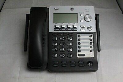 Lot Of 10 Att Synj Sb67158 4 Line Intercom Business Office Phones With Handsets