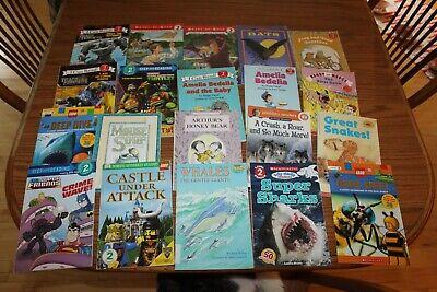 20 Level 2 Readers Books Lot Step Reading I Can Read Children's Teacher Animal