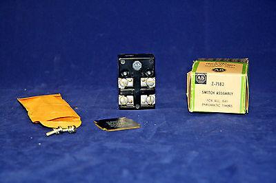 Allen Bradley Z-7182 Switch Assembly for Bulletin 849 Pneumatic Timers Z7182