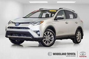 2016 Toyota RAV4 Hybrid Limited/Cuir/GPS/Toit ouvrant/Bluetooth/