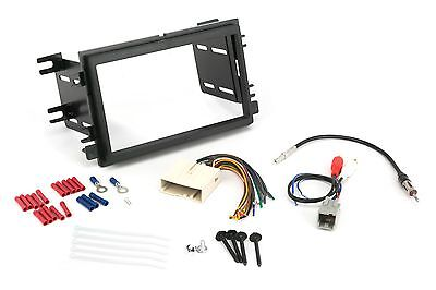 Double Din Dash Kit For Stereo Radio Install Audio Factory Amp w Wire Harness for sale  Shipping to Canada