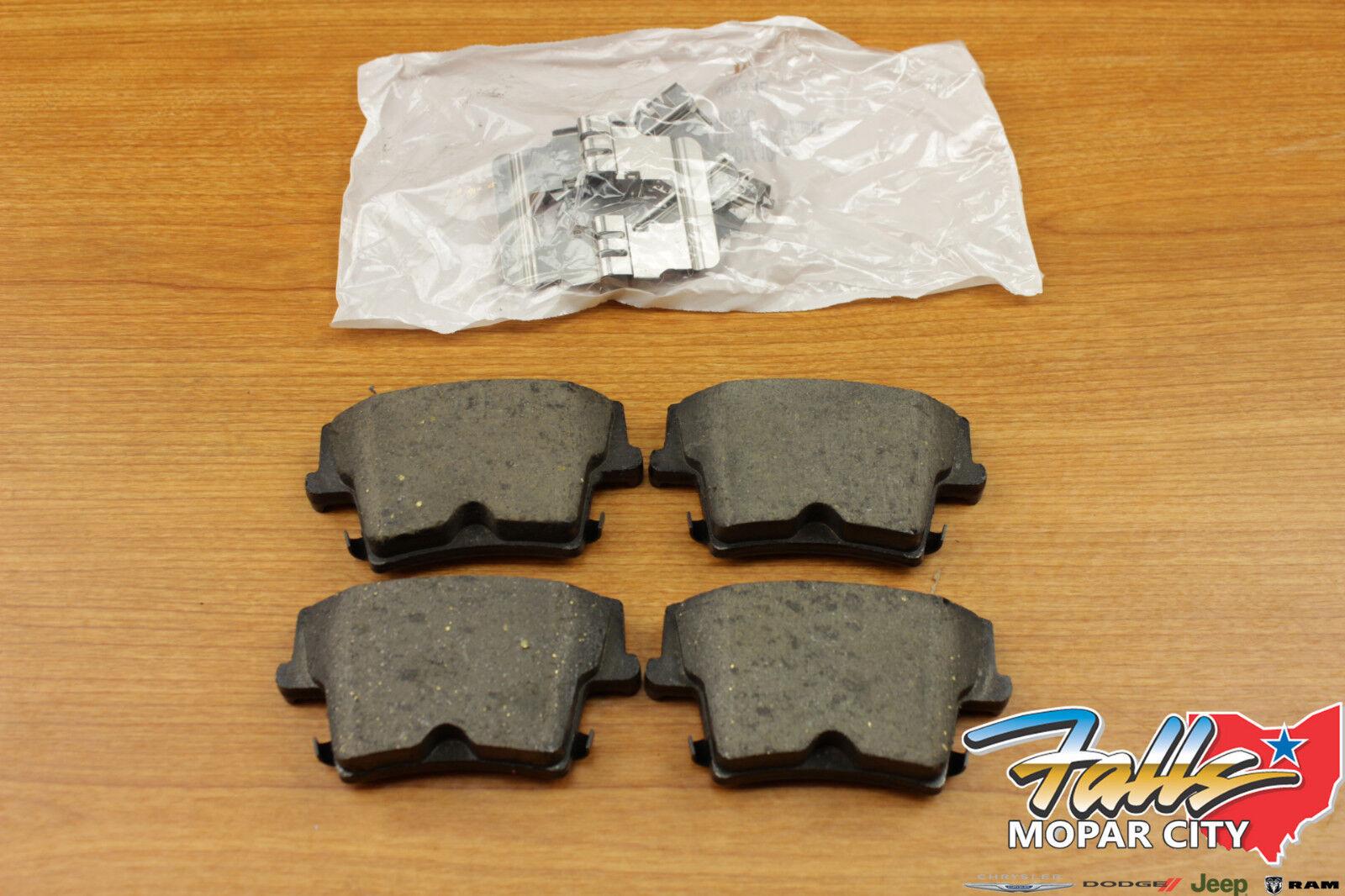 2005-2012 Chrysler 300 Dodge Charger Magnum Rear Brake Pad Kit Mopar OEM