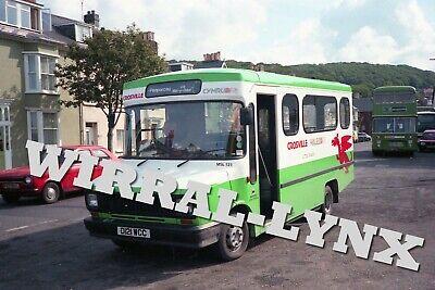 Crosville Cymru MSL121.Freight Rover Sherpa.Taken At Aberystwyth.