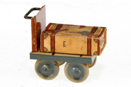 AC1858: Vintage Kibri Gauge1 Luggage Cart with Baggage