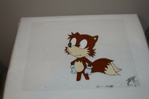 🎮 Sonic the Hedgehog Original Painted Animation Cel 🎮 Check Out My Cels 🦔