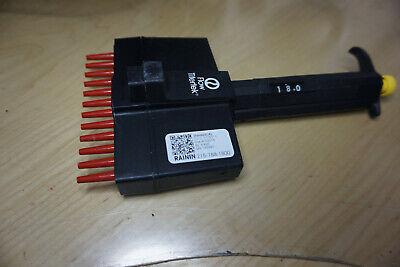 Flow Titertek Multichannel Pipette Pipet 5-50 Ul 12 Chanel Labsystems Finn