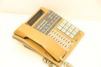 Nitsuko Minerva Grouphon E-ii Ntk-616es Vintage Nixie Tube Vfd Display Phone 85