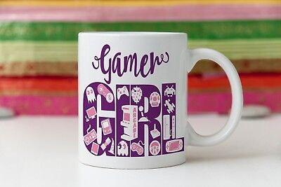 RPG geek girl gift, role playing game gift, gamer girl mug, wow gift, Gift For G (Gifts For Geek Girls)