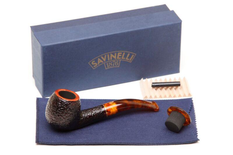 Savinelli Tortuga Rustic 626 Tobacco Pipe