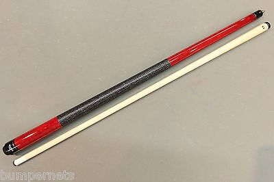 New Red Viking Pool Cue Billiards Stick Lifetime Warranty Free Shipping 114