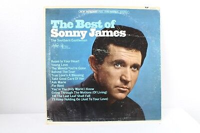 The Best of Sonny James Vintage Vinyl Record 1966 LP VG+ (The Best Of Sonny James)