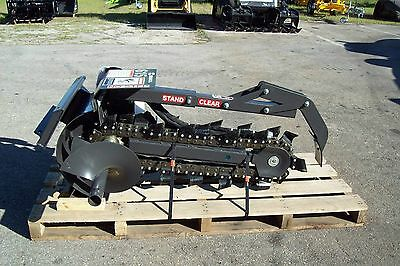 Bradco 36 Trencher Fits Mini Loadersditch Witchvermeertoroboxerprowler