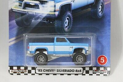 Hot Wheels Boulevard '83 Chevy Silverado 4X4 New on Card