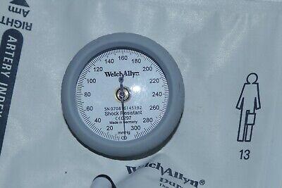 Welch Allyn Ds44-11 Durashock Sphygmomanometer Adult Size 11 Gauge And Cuff 2a