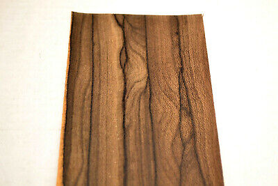 Ziricote Raw Wood Veneer Sheets 4 X 36 Inches 142nd  7631-42