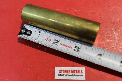 1 Diameter Brass C360 Round Rod 3-12 Long H02 New Solid Lathe Bar Stock
