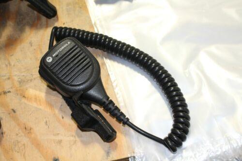 Motorola Mic Clip-On Speaker Mic PMMN4038A Fits model XTS MTS HT MT Radios NICE