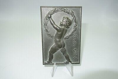 RP336: Medaille Plakette Auszeichnung Neue Gilde Für Treue SELTEN