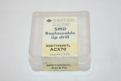 Sumitomo Electric Smdt1690mtl Carbide Replaceable Drill Tip Acx70 New