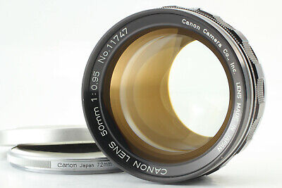 【Rare!! MINT++】 Canon 50mm f/0.95 Dream Lens for 7 7s 7sz L39 from Japan #459