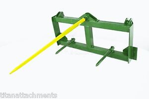 Hay Spear Attachment for John Deere 200 300 400 500 Loaders deer (JD-NHA)