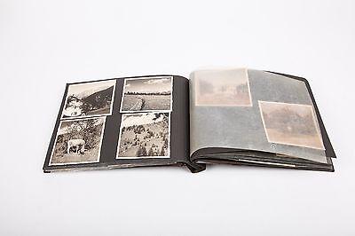 Altes Fotoalbum  - 1956 - vollständig ... sehr schöne sw Fotos,  Autos, Reisen