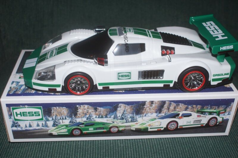 2009 Hess Race Car and Racer -New In Box, Never Opened