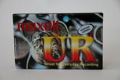 Minuten Neu und OVP Maxwell-UR90-Audio-Kassette-Audio-Tape-90