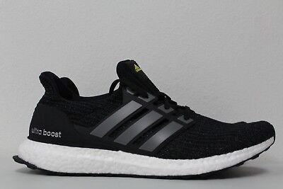 sports shoes 2b621 2ba8e Adidas Mens Ultra Boost LTD 4.0 Size 6.5 Black 5th Anniversary BB6220