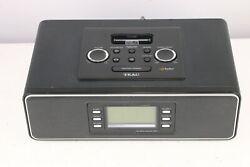 TEAC MODEL HD-1 HD RADIO RECEIVER, ALARM CLOCK WITH IPOD DOCK