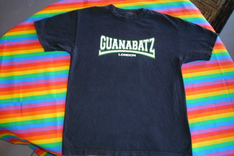 @@@ GUANABATZ LONDON RARE PSYCHOBILLY TEE SHIRT @@@