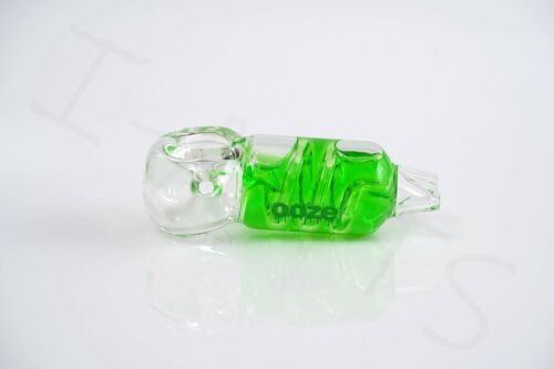 1x OOZE CRYO Freezable Glycerin Glass Hand Art Hookah Pipe