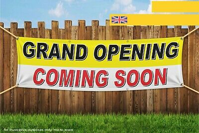 Soon Heavy Duty PVC Banner Sign 4306 (Grand Opening Banner)