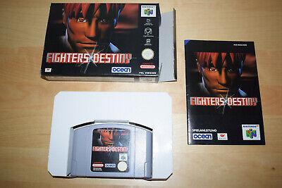 Nintendo 64 *Fighters Destiny* N64 OVP CiB Mint mit Anleitung TOP Selten Rar