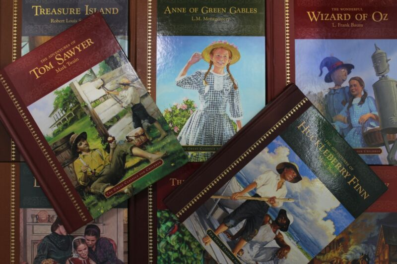 Lot of 10 The Great Classics for Children Hardcover Books MIX