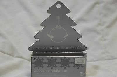 Set of 2 Ornamotion Christmas Ornament Spinners Rotator Set New in Box - Christmas Ornament Spinners