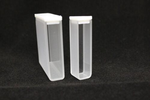 UV Quartz Cuvette, 3.5ml, 2 Clear Windows, Standard Cell with Lid, #FQ-CV-1-10