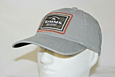 548f709ff4cc2 Simms Fly Fishing Single Haul Adjustable Snapback Cap Hat in Gunmetal OSFM