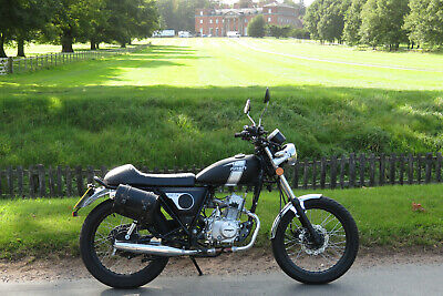 Mash Fifty Roadstar 50cc moped learner cafe racer first bike 2018 low mileage