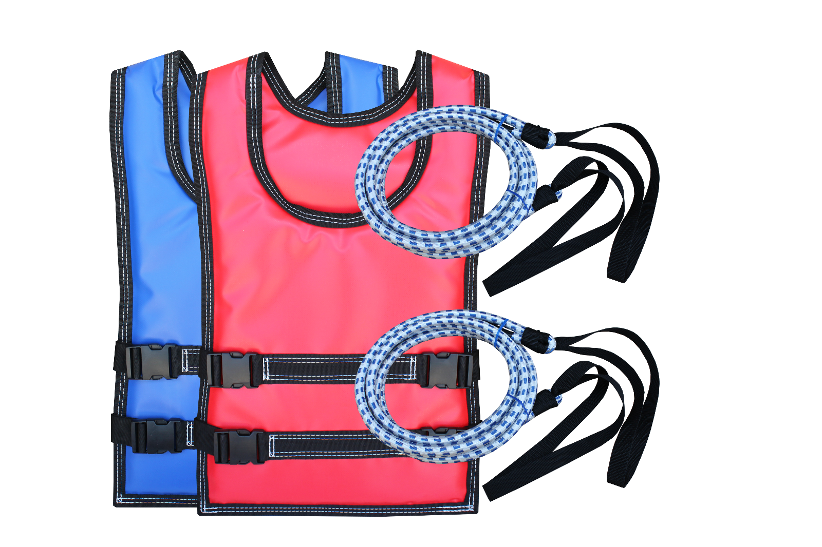Bungee Harness SET - For Inflatable Bungee Run - Adult Vests