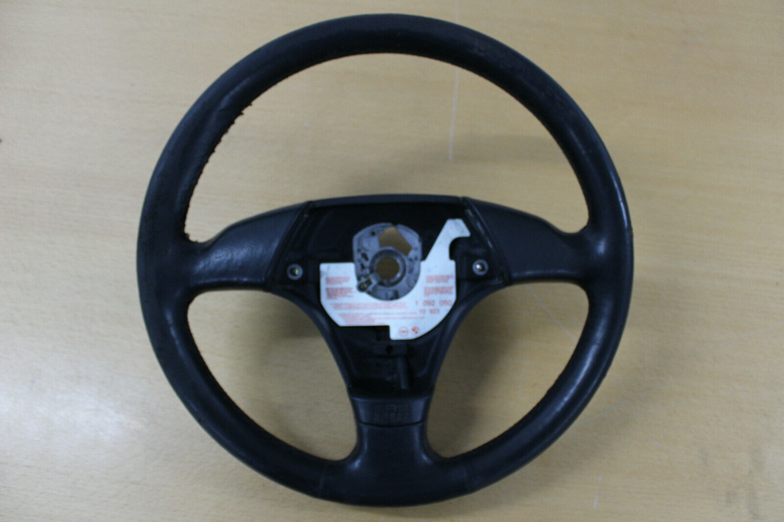 BMW E36 3 Spoke Sports Steering Wheel Leather Steering Wheel 1092050