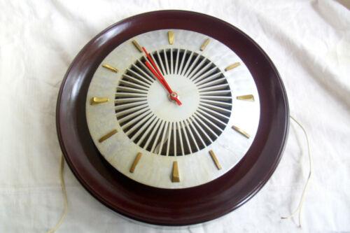 Heco Lautsprecher-Uhr WLU-30 von 1961, seltenes Stück, voll funktionsfähig.