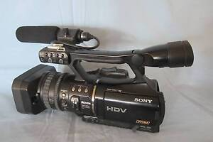 Sony HVR - V1P Camcorder Iluka Clarence Valley Preview