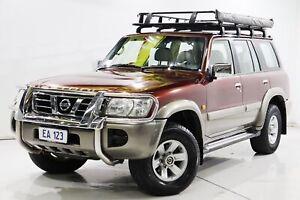 2004 Nissan Patrol GU IV MY05 TI Red 5 Speed Sports Automatic Wagon